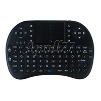 Wholesale 2 G Rii Mini i8 Wireless Keyboard Air Mouse Handheld Remote Control Touchpad English