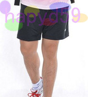 Wholesale free ship high quality original VS man badminton shorts pants badminton jersey badminton sportswear