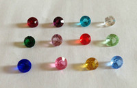 Wholesale 4 mm Charms For Lockets Round Crystals Rhinestones For Floating Locket Months Birthstone