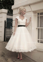 2014 Ivory Cap Sleeves Sweetheart Lace A Line Wedding Dresse...