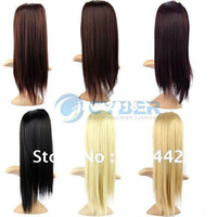 Wholesale Holiday Sale Women s Girls Fashion Long Hair Extensions Ponytail Straight Hair Piece quot Colors