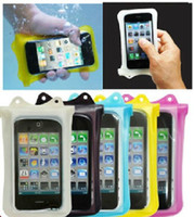 100% waterproof case WP- i10 Waterproof Bag with Wrist Strap ...
