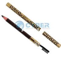 Wholesale New Perfect Waterproof Long lasting Eyeliner Eyebrow Eye Brow Pencil amp Brush Makeup