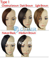 Wholesale Women s Appealing One Piece Clip In On Hair Bang Fringe Hair Extensions