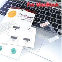 Wholesale Clear Toudhpad Protector For MacBook Air quot Pro Retina quot quot quot Dirtproof PET Film Guard amp Retail Package