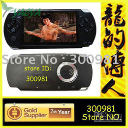 Wholesale - Free shipping,game console, 4gb ,4.3inch mp3 mp4 mp5 player with AV Out,1.3Mp camera,support to play