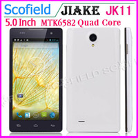 JIAKE 5.0 Android JIAKE JK11 5.0 Inch QHD MTK6582 Quad Core 1.3GHz Smartphone 1GB+4GB 5.0MP Camera 3G GPS Android4.2