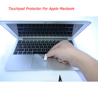 Wholesale Waterproof Touchpad Protector For Apple Macbook Pro Retina Air quot quot High Quality Anti dust Film with Scratch Card DHL Shipping