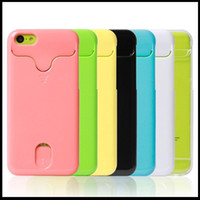 Cheap Credit card slot holder plastic PC hard case for iphone 5C colorful luxury fashion skin back cover cases shell