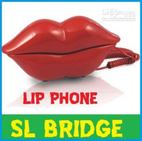 Wholesale Home Appliance Marilyn Monroe Red Lips Telephone Phone Corded Telephone Creative gift