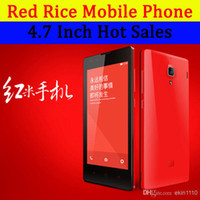 Xiaomi 4.7 Android Red Rice Original Xiaomi Hongmi Red Mi Android 4.2 MTK6589T Quad Core 1.5GHz 4.7 Inch IPS 1280*720 1GB RAM 4GB ROM 3G GPS Android 4.1