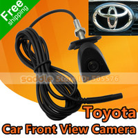 Wholesale Car Front View Logo Embeded Camera For Toyota Prado Highlander Land Cruis With Waterproof IP67 Wide Degree