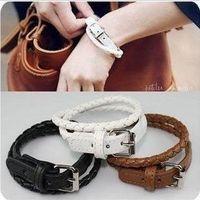 Wholesale Fashion Korean Style Bracelets Leather Bracelets Wrap Women Bracelets