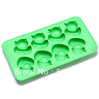 Wholesale Cool Guitar and other Shaped Silicone Ice Tray Mold Random Color ICE CUBE TRAY