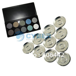 Wholesale 10Grid mm Empty Eyeshadow Palette With Aluminum Pans