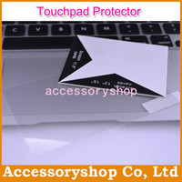 Wholesale Clear Touchpad Film Guard Cover For MacBook Air Pro Pro Retina Protector Shield Skin Anti Scratch High Quality