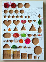 Wholesale New Arrival Quilling Design Board Quilling Workboard Cork Board With Straight Pin
