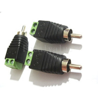 Wholesale Terminal Block To RCA Male For TV Video Adapter Cinch Connector Connectors