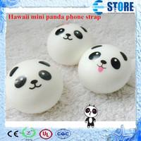 Universal kawaii squishy - 3 STYLES kawaii mini panda couple Squishy Cell Phone Charm Strap wu