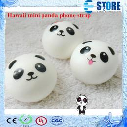 online shopping 3 STYLES kawaii mini panda couple Squishy Cell Phone Charm Strap wu