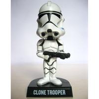 Wholesale FUNKO WACKY WOBBLER STAR WARS Clone Trooper BOBBLE HEAD FIGURE