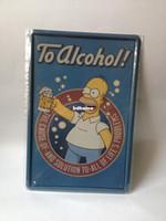 Metal Yes Antique Imitation TO ALCOHOL paiting Tin Sign Bar pub home Wall Decor Retro Metal Art Poster