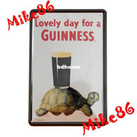 Metal Yes Antique Imitation [ Mike86 ] Lovely day for a Guinness By the Tortoiese Beer poster Metal signs Art wall decor Paintings A-15 Mix order 20*30 CM
