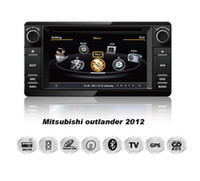 Wholesale Car DVD GPS for Mitsubishi Outlander With G CPU P G Host HD Screen S100 Support DVR Audio Video Player Free Map