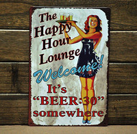 Metal Antique Imitation Europe [ Mike86 ] Bar Metal signs Art wall decor House Cafe Restaurant Metal Paintings B-47 Mix order 20*30 CM Free Shipping