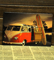 Metal Yes Antique Imitation [ Mike86 ] VW mini bus retro Metal signs wall decor House Office Bar Metal Painting art B-129 Mix order 20*30 CM Free Shipping