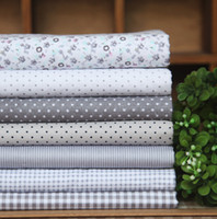 Wholesale elegant grey fabric diy handmade patchwork Cloth DIY x30cm