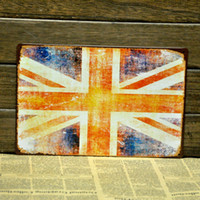 Metal Yes Antique Imitation [ Mike86 ] British Flag Metal Signs Retro Art wall decor House Cafe Restaurant Vintage Metal Paintings B-84 Mix order 20*30 CM