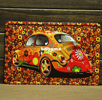 Metal Yes Antique Imitation [ Mike86 ]Flower Cool Car Tin sign Art wall decor House Cafe Bar Vintage Metal signs A-208 Mix order 20*30 CM