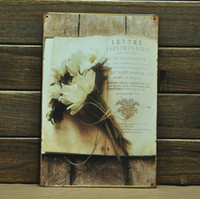 Metal Yes Antique Imitation [ Mike86 ] Vintage Flowers Tin signs Wall Art decor House Office Restaurant Bar Metal Painting B-147 Mix Items 20*30 CM