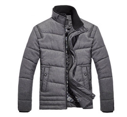 Wholesale coats Men s Winter overcoat Outwear warm for men M XXXL MWM058