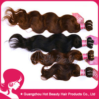 Wholesale Body wave Indian Human Hair weft Extension Cheap Human hair Color1b drop shipping