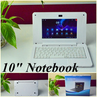 Wholesale JW Free DHL Thinner quot inch notebook VIA8850 Dual core Ghz Netbook computer android GB RAM GB ROM HDMI USB mini laptop notebook