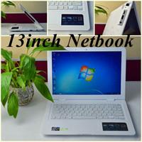 Wholesale JW Free DHL quot notebook Intel Atom D2500 Dual core Ghz Netbook windows system GB RAM GB ROM MP Camera laptop computer HDMI