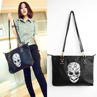 Wholesale Skull handbag shoulder bag handbag bag purse bag Dunhuang new Korean version of the influx of foreign trade leisure package