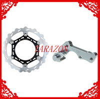 Cheap New Oversize 270 Front Brake Disc Rotor + Adaptor Bracket For YAMAHA YZ 125 2008 2009 2010 2011 2012 2013
