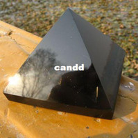 Wholesale natural obsidian quartz crystal pyramid Promotions