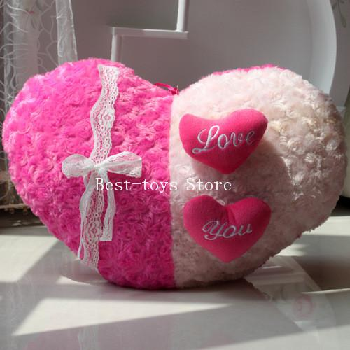 product best toys store angel rose heart pillow
