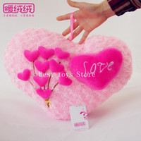 Wholesale Best toys Store Angel Rose Heart pillow heart shaped pillow love cushions love heart pillow
