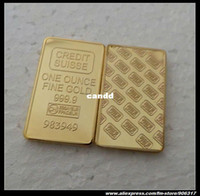 Wholesale Credit suisse Fine gold replica bullion plated coper High Quality