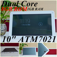 Wholesale JW Free DHL inch quot MID Actions ATM7021 dual core Ghz tablet pc Android GB Rom Dual web Camera HDMI Wifi OTG