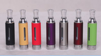 Replaceable 2.4ml Metal MT3 Clearomizer Atomizer Cartomizer Electronic Cigarette No Cotton Wick Hole 2.4ml 2.4ohm Coil head Bottom Coil Clearomizer Tank