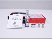 Wholesale Kangertech protank atomizer Kanger pro tank III Clearomizer Dual Coil atomizer Clearomize Pyrex Glass for E cigarette Clear color instock