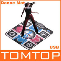 Wholesale NEW Non Slip Dancing Step Dance Mat Mats Pads to PC USB BB032