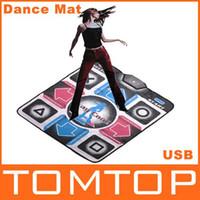 Wholesale NEW Non Slip Dancing Step Dance Mat Mats Pads to PC USB BB032