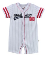 Wholesale Hot Sale Baby Bodysuits boxer rompers for boys Rookies Baseball Baby clothes Retail TOP QUALITY NEWEST MONTH